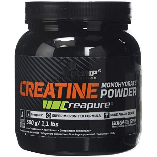 516XBY M4ML. SS500  - OLIMP SPORT NUTRITION Creatine Creapure Monohydrate 500 g - (Packaging may vary)