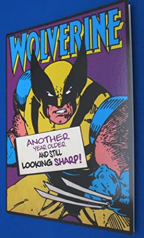 Wolverine Birthday Card
