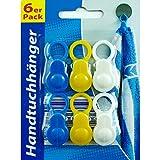 6x Handtuchhänger Handtuch Clips Halter Aufhänger Aufhängeclips Handtuchclips