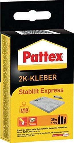 2Komponentenkleber 30g Stabilit-Expr. PSE13 Pattex HENKEL b.250kp/cm3, 6 St.