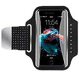 Mpow Mangrove Sportarmband Hülle, Anti-Drop- und maschinenwaschbares Laufarmband Armband Hülle Armtasche Handyhülle bis 5, 2 Zoll, mit Reflexstreifen, HD-Folie, empfindlicher Touchscreen