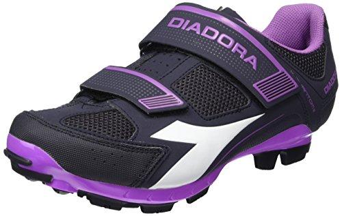 Diadora X Phantom Ii W, Chaussures de Vtt Femme Multicolore (DK smoke/white/vilet orchid iris6040)