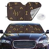 Questo parasole per parabrezza per auto fornirà un buon regalo per i nuovi proprietari e per ogni automobilista. Manterrà il tuo veicolo da inutili danni UV. Progettato per fermare l'accumulo di calore all'interno dell'auto. Crea fresche temperature ...
