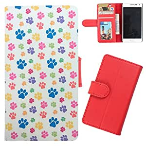 DooDa - For Huawei Honor Holly PU Leather Designer Fashionable Fancy Wallet Flip Case Cover Pouch With Card, ID & Cash Slots And Smooth Inner Velvet With Strong Magnetic Lock