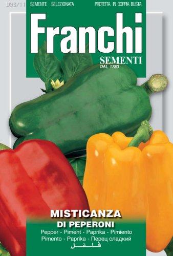 Seeds of Italy Ltd Franchi Poivrons mélangés