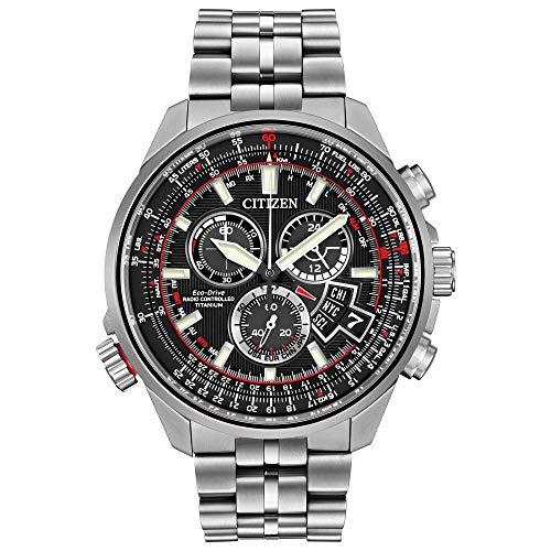 Citizen watch orologio cronografo solare uomo con cinturino in acciaio inox by0120-54e