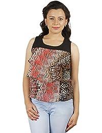 Gugg Women's Self Design TOP [GS16A26_BLACK]