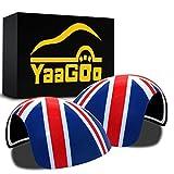 YaaGoo MINI-MK1 Außenspiegel-Abdeckung für Außenspiegel, MK1 Linkslenker, Union Jack
