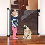 Tatkraft Mom Einziehbares Baby-Sicherheits-Tor für Türöffnungen und Treppe, Justierbare Länge, Dieses Tor Passt 8-140 X 88 X 8 cm
