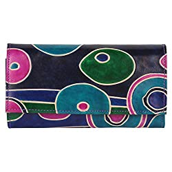 Anekaant Natura Women Genuine Leather Blue Wallet
