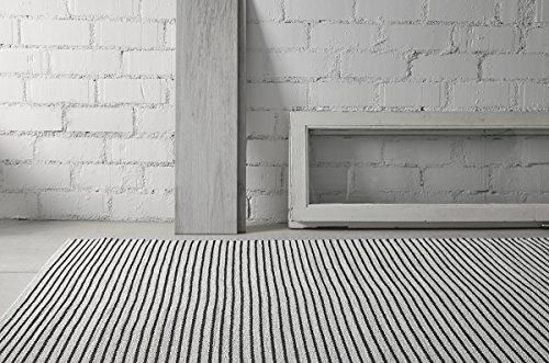 Creative carpets Teppich für innen und außen Modern 200 x 300 cm schwarz und weiß