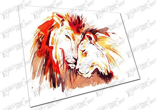 kunstdruck-auf-leinwand-lowe-lowin-watercolor-a4-print-only