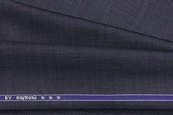 Raymond Trouser Fabric 1Pc 1.3Meter Trouser Length for Men's Solid Blue