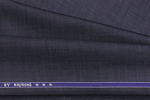 Raymond Trouser Fabric 1Pc 1.3Meter Trouser Length for Men\'s Solid Blue
