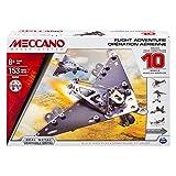 Meccano 6026717 - Vuelo Paquete de Aventura para construir 10 modelos temático aire, Metal Piezas