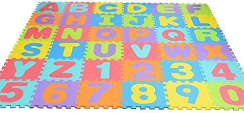 36 Pcs de puzzle numérique EVA puzzle en en en mousse tapis de bébé tapis de bébé, Foam Mat Cold-proof EnvironHommes tally Friendly Baby Crawling Climbing Mat 15  15 Lettre Numérique Mat Éducative Mat | New Style 5126cf