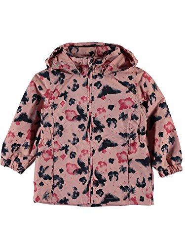 Name it Mädchen Windjacke Regenjacke Übergangsjacke NITMELLO BUTTERFLY 13141050 rose tan Gr. 98 (Jacke Tan Mädchen)