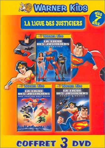 Coffret La ligue des justiciers 3 DVD : L'invasion / Que justice soit faite / Paradis perdu
