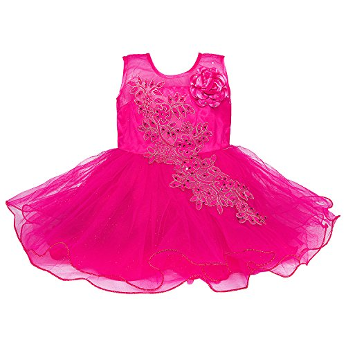 cad15ea4a Wish Karo Baby Girls Party Wear Frock Dress DN - (fe1051) - Buy Online in  Oman. | [missing {{category}} value] Products in Oman - See Prices, ...