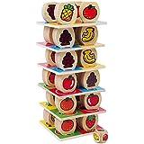 Legler 1474 - Früchte-Turm, Geschicklichkeitsspiel
