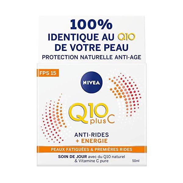 Nivea Q10 Anti-Arrugas Crema de Día + Energía Piel 50ml Ternes y Cansado
