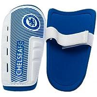 Chelsea Fc Shinpads Shin Pads Kids 7-9 Yrs Approx 19cm & Grip Seal Bag