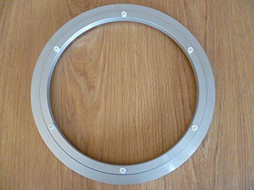 Lazy Susan - Cojinete de placas giratorias, de aluminio, redondo, plateado, de 300mm