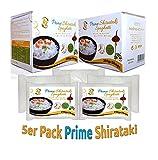 5x290g - Angebot Konjaknudeln aus Konjakwurzel - AZ Prime Shirataki Nudeln - Die Konjak Nudeln (Diät, Vegan, Low Carb) sind fettfrei, glutenfrei, kalorienarm, kohlenhydratearm (5er Pack | 1.45 kg)