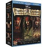 Pirates des Caraïbes - La trilogie : La malédiction du Black Pearl + Le secret du coffre maudit + Jusqu'au bout du monde