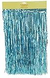 Shiny Ice Blue Lametta - Christbaumschmuck - Größe: 90cm x 48cm