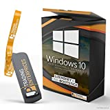 Windows 10 Professional 32/64Bit JP Trading Enterprices USB-Stick 100% Bootfähig mit Lizenzschlüssel