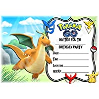 amazon co uk pokémon invitations party supplies toys games