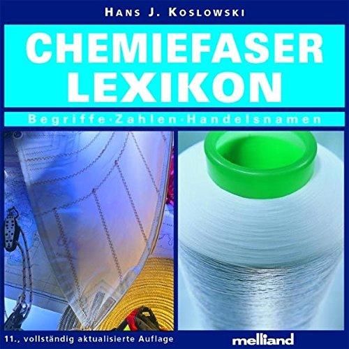 Chemiefaser Lexikon. CD. Begriffe - Zahlen - Handelsnamen