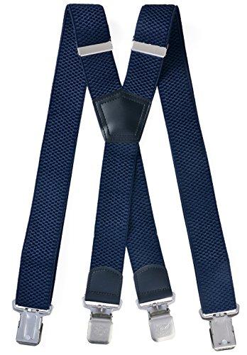 Miobo Hosenträger HTX04 - X dunkelblau - One Size
