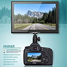 Lilliput 10.1 Inch fa1014/S IPS de 3 G SDI SDI HD-SDI Camera Monitor for Canon EOS C100, C300, C500 Sony pxw-fs7 F5 FS7000 F55 BMCC BMPC Red One 4.5 K MX 5 K Epic Scarlet X Arri Mini