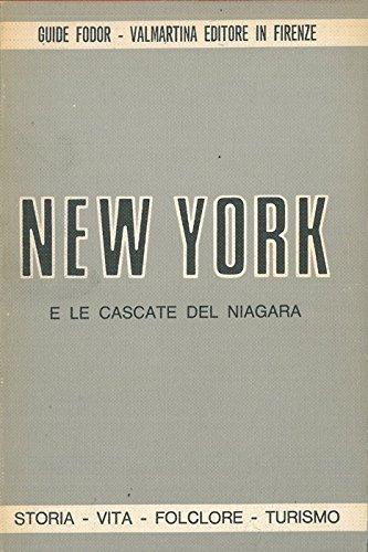 New York e le cascate del Niagara.