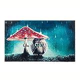 Kleentex Teppich Little Owl 70cm x 120cm Teppichläufer Fußmatte Bodenbelag