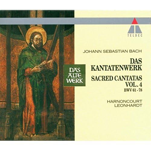 """Cantata No.71 Gott ist mein König BWV71 : III Chorus - """"Dein Alter sei wie deine Jugend"""" [Boy Soprano, Counter-Tenor, Tenor, Bass]"""