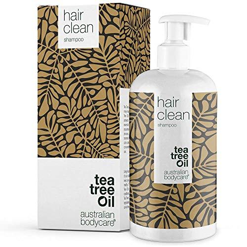 Teebaumöl Shampoo 500 ml | Schuppen Shampoo – Vegan Shampoo für Trockene und Juckende Kopfhaut – Auch gegen fettiges haar | Anti Schuppen Shampoo für Herren und Frauen | Ohne Silikon & Parabene