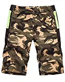 Tomwell Pantaloncini corti Bermuda Cargo short con tasconi laterali, con cintura Giallo EU XS