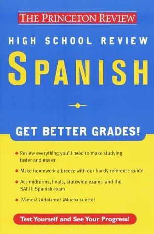 High School Spanish Review (Princeton Review) por Alex Idavoy
