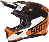 Shot Furious Venom Kinder Crosshelm Schwarz/Orange Y/M (51/52)