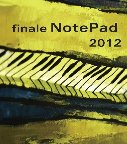 Finale NotePad 2012 Deutsch, Notensatz, Notationssoftware Test