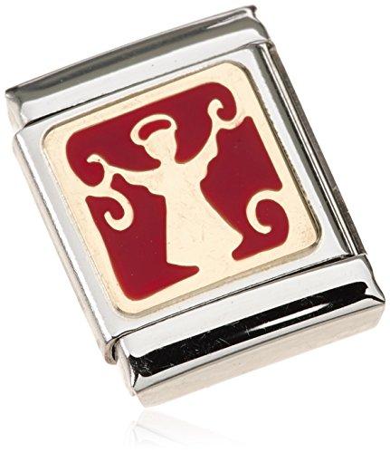 Nomination - 032244-06, Charm e ciondolo per bracciale  in acciaio inossidabile, donna