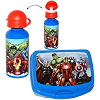 Preisvergleich für alles-meine.de GmbH 2 TLG. Set _ Lunchbox / Brotdose & Trinkflasche - The Avengers Assemble - ..