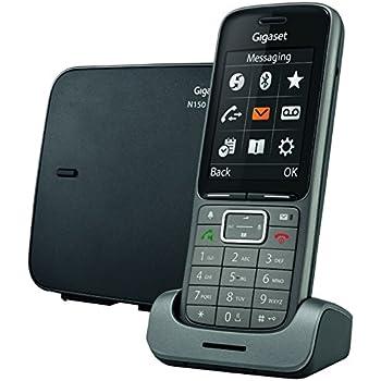 Gigaset C610 IP Téléphone VoiP sans fil avec Eco DECT Noir ...