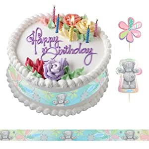 19 pièces de décoration de gâteaux anniversaire Me To You Tatty Teddy