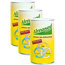 3x Almased Vitalkost, Pulver, 500 g