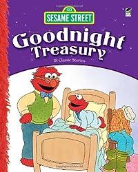 Sesame Street Goodnight Treasury: 18 Classic Stories (Sesame Street (Dover))