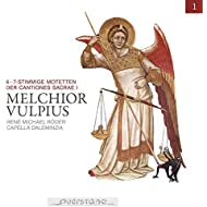 Melchior Vulpius (Motetten der Cantiones Sacrae I)